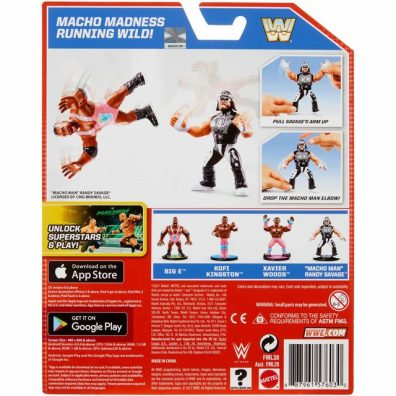 wwe retro app macho man package rear