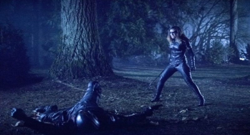 Arrow Collision Course review Black Canary vs Diggle