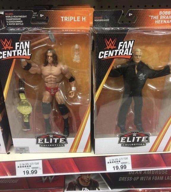 WWE Fan Central Triple h and Bobby Heenan