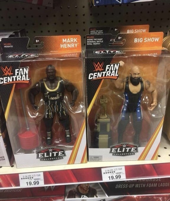 WWE Fan Central Mark Henry and big show