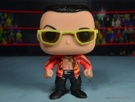 Funko Pop! WWE The Rock figure review - front