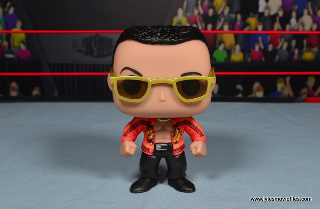 Funko Pop! WWE The Rock figure review - main pic