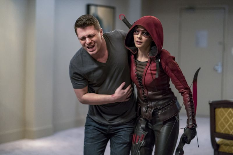 arrow-doppelganger-review roy and thea