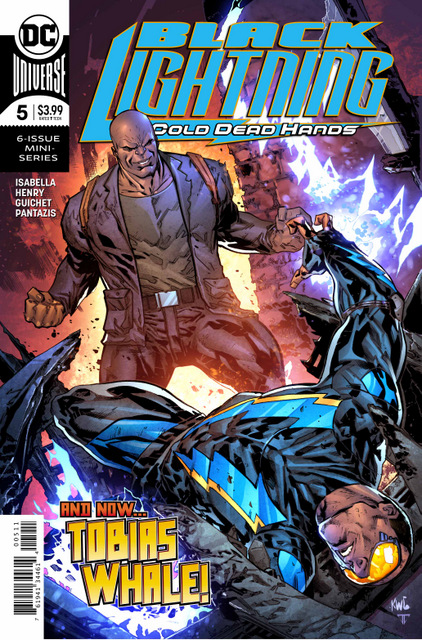 black lightning cold dead hands #5 cover