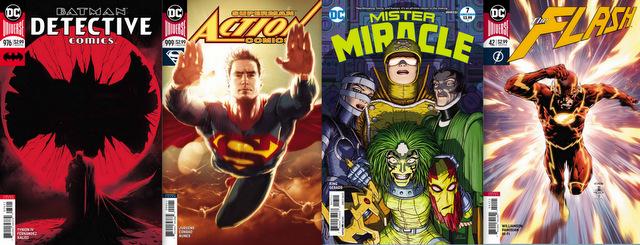 dc comics reviews for 3/14/18