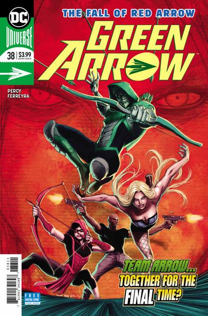 green arrow #38 cover