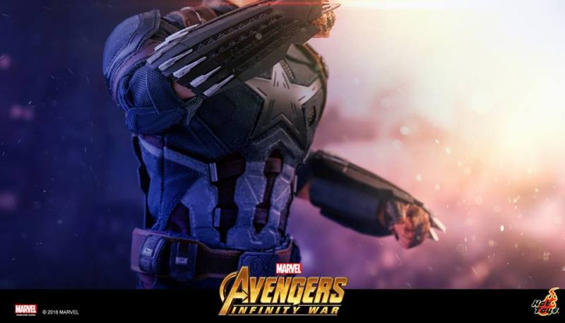 hot toys avengers infinity war captain america tease