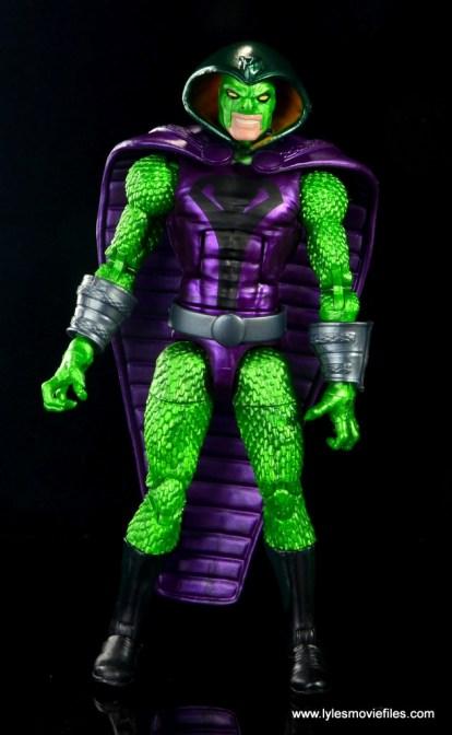 marvel legends king cobra figure review - front