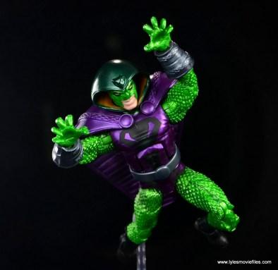 marvel legends king cobra figure review - leaping