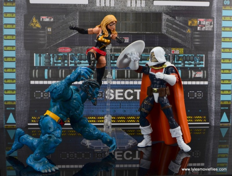 marvel legends taskmaster figure review - vs beast and warbird