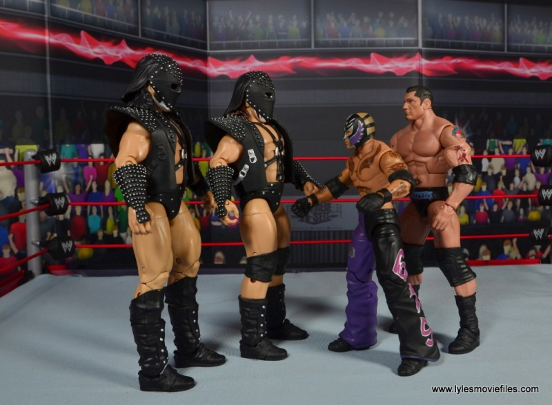 mb 1st round winners - demolition vs batista and rey mysterio face off