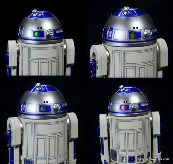 sh figuarts r2d2 figure review -rear lights