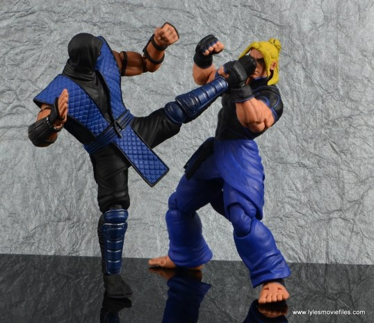 storm collectibles mortal kombat sub-zero figure review - kicking street fighter v ken