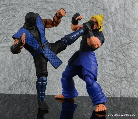 storm collectibles mortal kombat sub-zero figure review - kicking street fighter v ken