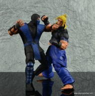 storm collectibles mortal kombat sub-zero figure review - punching ken2