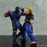 storm collectibles mortal kombat sub-zero figure review - punching ken2