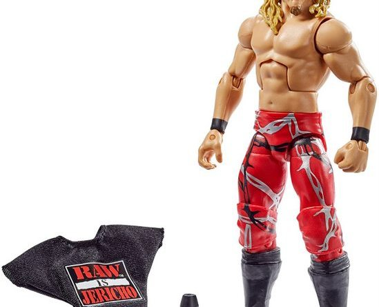 wwe best of attitude era chris jericho figure accessories