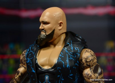 wwe elite 56 karl anderson and luke gallows figure review -gallows beard left side