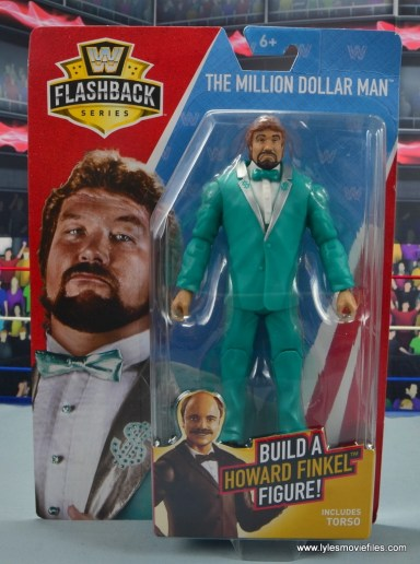 wwe million dollar man figure review - front package