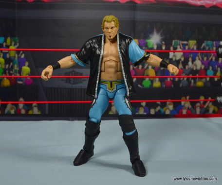 wwe ringside collectibles chris jericho figure review -jacket front arms out