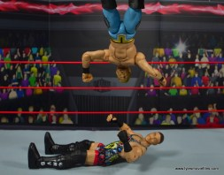 wwe ringside collectibles chris jericho figure review -lion sault to rvd