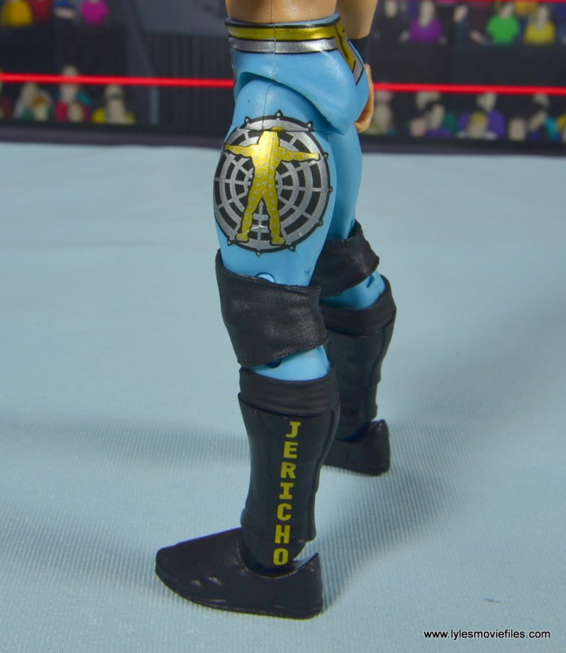 wwe ringside collectibles chris jericho figure review -logo detail