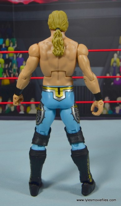 wwe ringside collectibles chris jericho figure review - rear