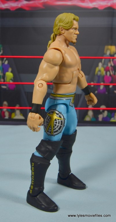 wwe ringside collectibles chris jericho figure review -right side