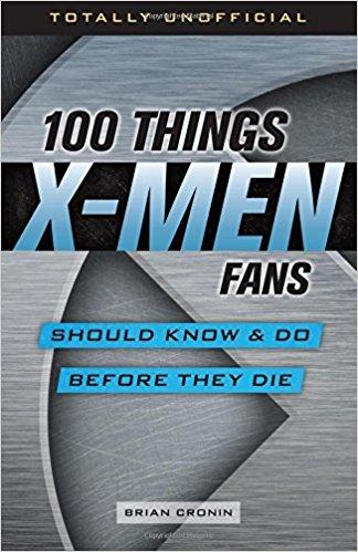 100 things x-men fans