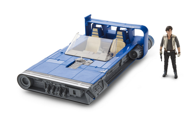 SOLO action figures and vehicles A STAR WARS STORY CLASS B VEHICLE Assortment (Han Solo's Landspeeder) - oop2