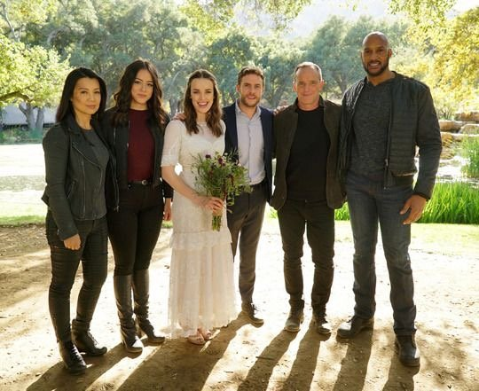 agents of shield the real deal review -may, daisy, simmons, fitz, coulson and mack