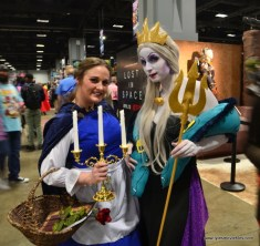 awesome con 2018 cosplay -ana and ursula