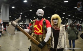 awesome con 2018 cosplay - deadly russian duo