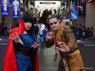 awesome con 2018 cosplay -doctor strange and kacelius 2