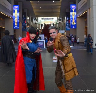 awesome con 2018 cosplay -doctor strange and kacelius
