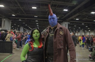 awesome con 2018 cosplay -gamora and yondu