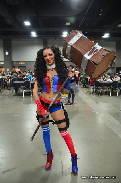 awesome con 2018 cosplay -harley quinn
