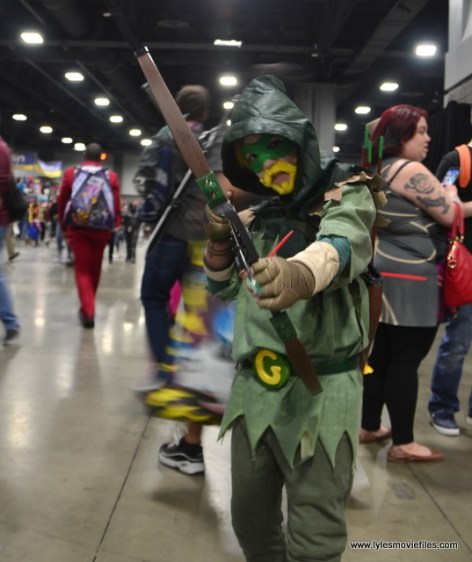 awesome con 2018 cosplay -kid green arrow