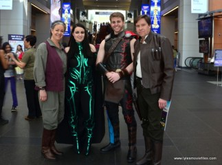 awesome con 2018 cosplay -leia, hela, thor and han solo