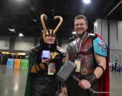 awesome con 2018 cosplay -loki and thor ragnarok