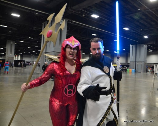 awesome con 2018 cosplay -red lantern mera and
