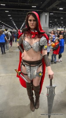 awesome con 2018 cosplay -red sonja