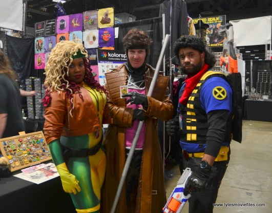 awesome con 2018 cosplay -rogue, gambit and bishop