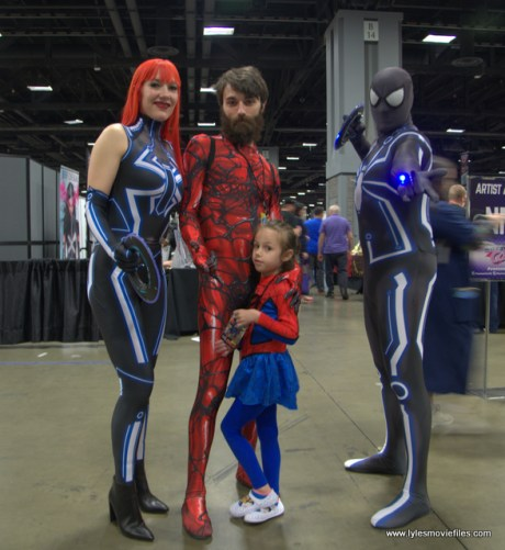 awesome con 2018 cosplay -spiderman family