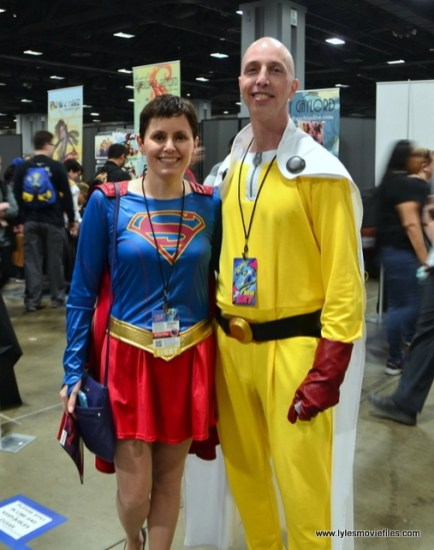 awesome con 2018 cosplay -supergirl and one punch man