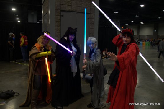 awesome con 2018 cosplay -team of jedi