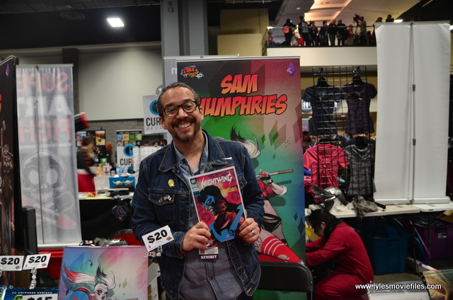 awesome con 2018 -sam humphries