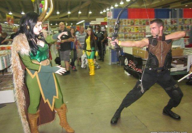 baltimore comic con 2012 cosplay loki-and-hawkeye