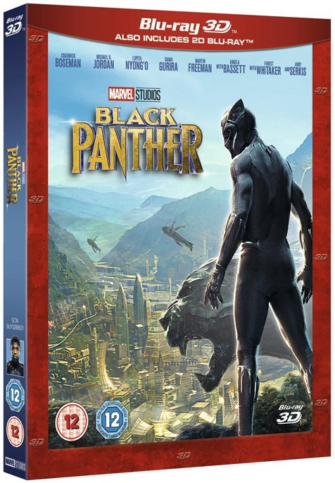 black panther blu-ray 3d