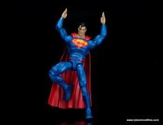dc multiverse superman rebirth figure review - landing